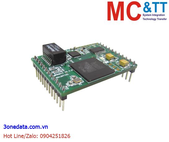 Module nhúng chuyển đổi 1 cổng RS-232/RS-422/RS-485 sang Ethernet 3Onedata NPM301Z